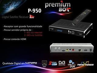 PREMIUMBOX - ATUALIZAÇÃO PREMIUMBOX SD DUO P 950 2.58K - PREMIUMBOX-RECEPTOR-P-950-SD-DUO