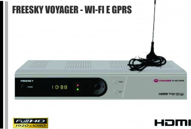 Comunicado Oficial aos usuários da marca freesky aparelho Voyager. Hoje FREESKY-VOYAGER-HD