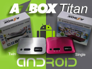 AZBOX TITAN  SINGLE