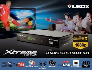 VIUBOX XTREME HD TWIN