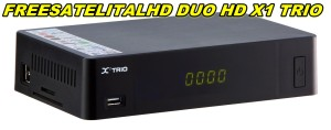 FREESATELITALHD DUO HD X1 TRIO