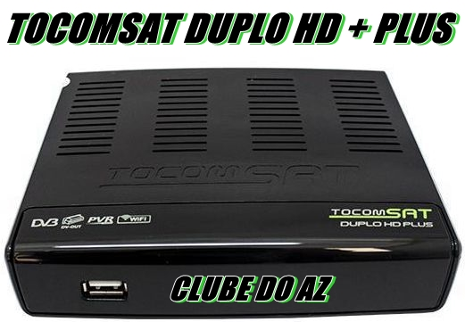 TOCOMSAT DUPLO HD + PLUS