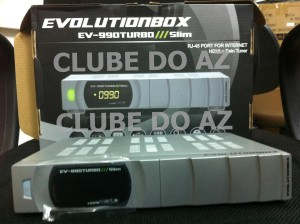 EVOLUTION EV-990 TURBO SLIM PRATA NOVO