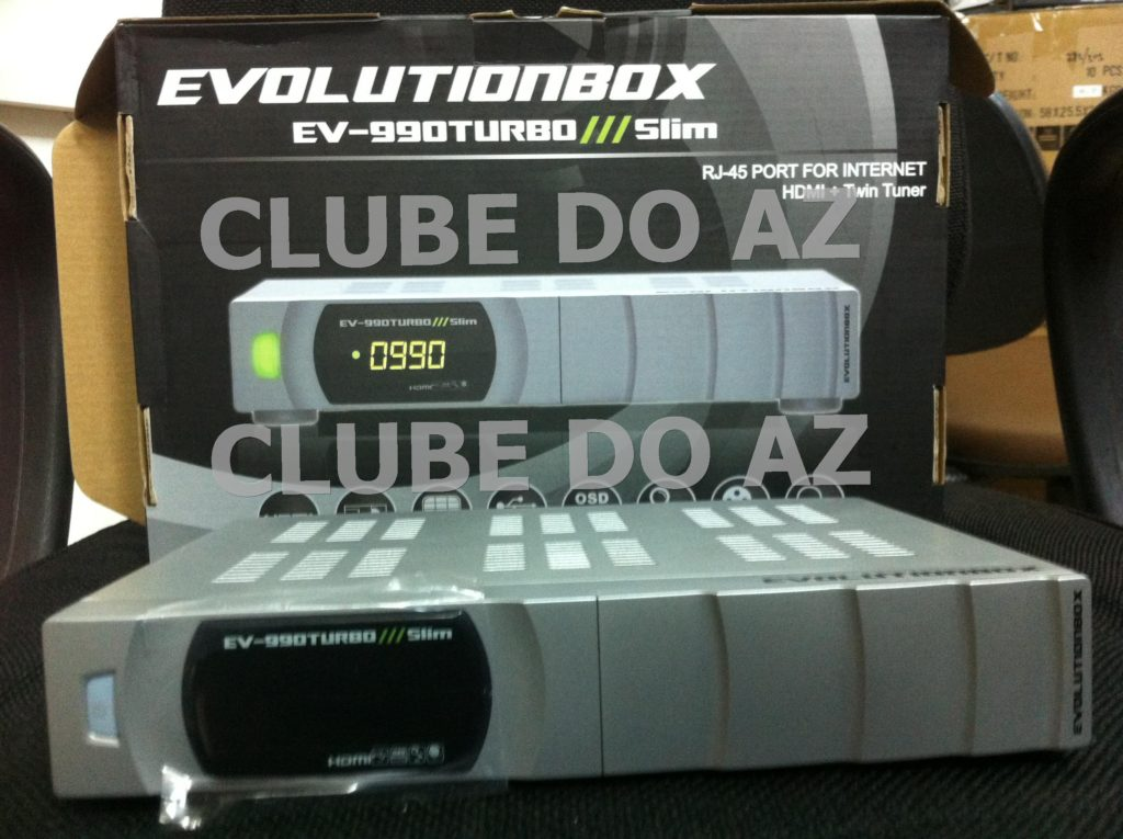 EVOLUTION EV-990 TURBO SLIM PRATA NOVO