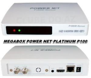 MEGABOX POWER NET PLATINUM P100 HD