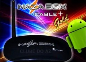 NAZABOX + CABLE GOLD