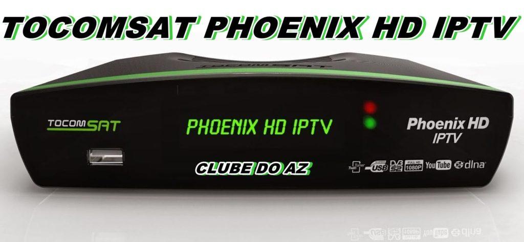 ATUALIZAÇÃO TOCOMSAT PHOENIX HD IPTV V02 009 – 19/09/2015 - CLUBE DO AZ