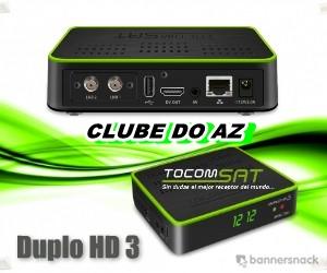 TOCOMBOX - TOCOMSAT - TOCOMLINK - Atualização Receptores - CLUBE DO AZ