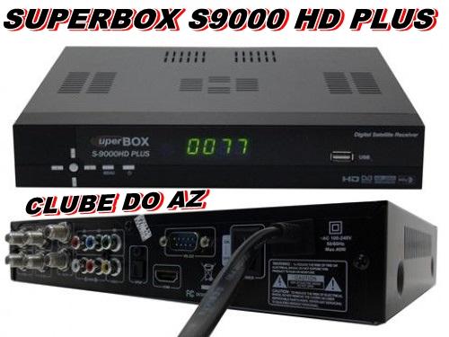SUPERBOX 9000 HD PLUS