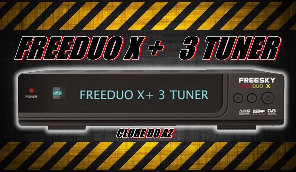 FREEDUO X + 3 TUNER
