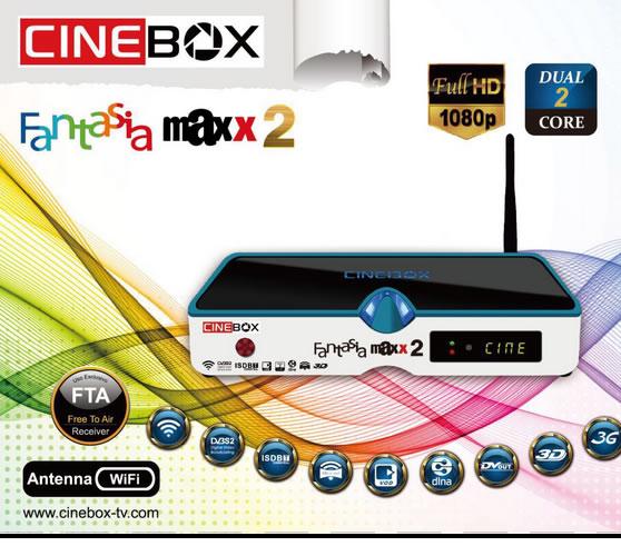 Resultado de imagem para cinebox fantasia maxx 2 hd