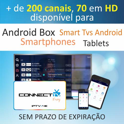 Resultado de imagem para Cartao Connect TV Iptv Vod Mobile/Box Android