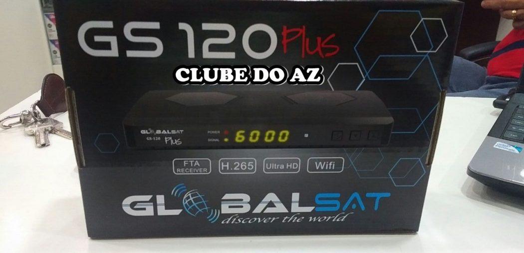 تحديث لجهاز GLOBALSAT PLUS V1.10