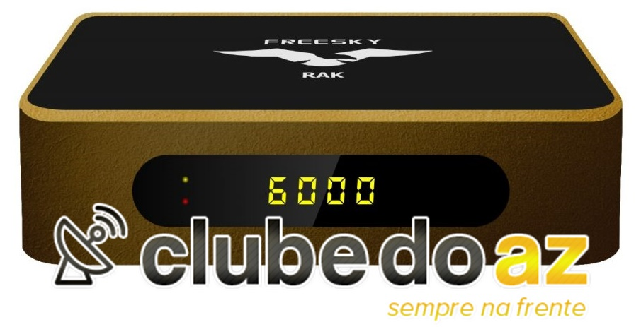 FREESKY - Atualização Receptores - CLUBE DO AZ