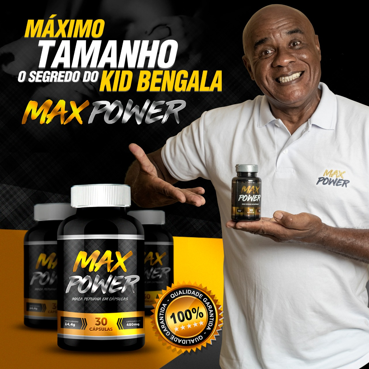 Aumento Peniano Max Power Kid Bengala